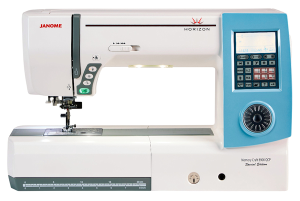 Janome Horizon Memory Craft 8900QPC Special Edition - K-W Sewing Machines
