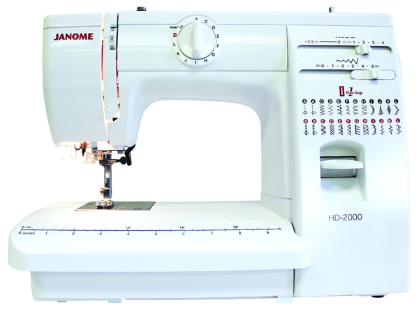 Janome HD2000 sewing machine at K-W Sewing Machines in Kitchener
