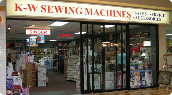 K-W Sewing Machines - Visit Our Store Today