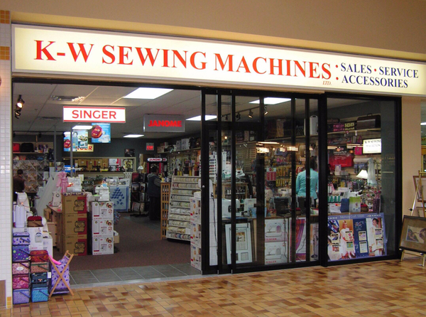 K-W Sewing Machines Store Front